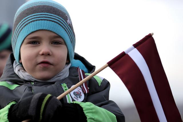 Der lettische Nationalfeiertag (14. November)