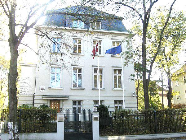 Veranstaltung in der lettischen Botschaft gemeinsam mit IMW e.V. (21. Mai)