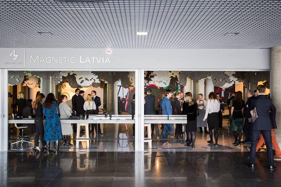 Magnetic Latvia im Flughafen RIGA