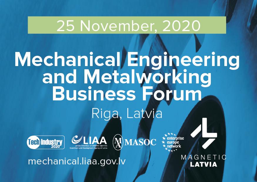 Update zum lettischen Maschinenbau- und Metallverarbeitungsforum
