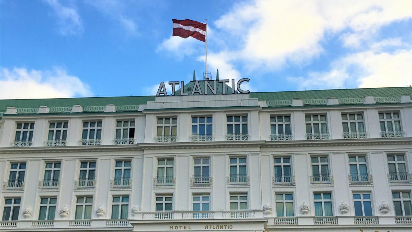 Das Hotel Atlantic in Hamburg feiert den lettischen Nationaltag