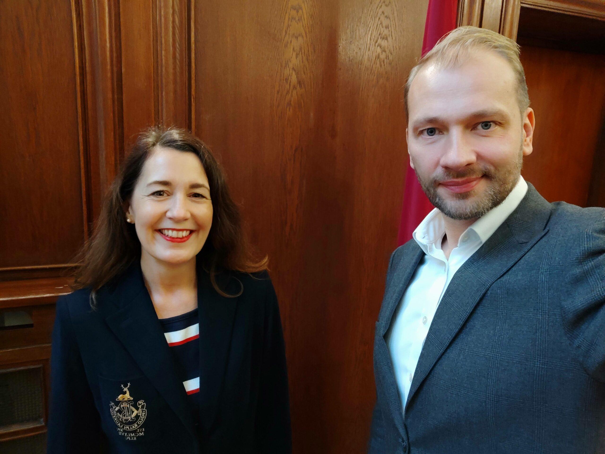 """Verschobenes """"Lettisch-deutsches Digitaltreffen"""" in der lettischen Botschaft"""