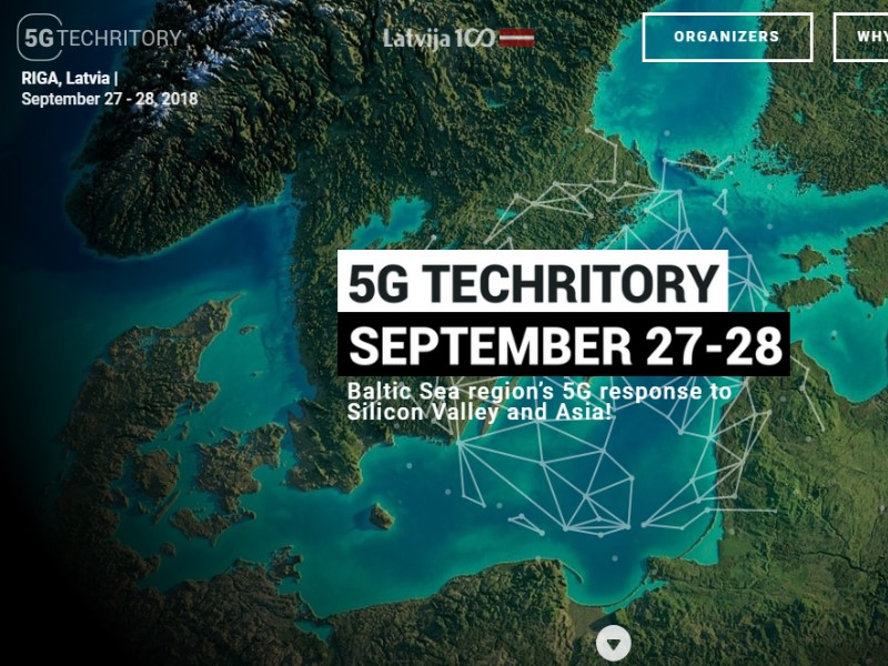 5G Techritory Forum in Lettland