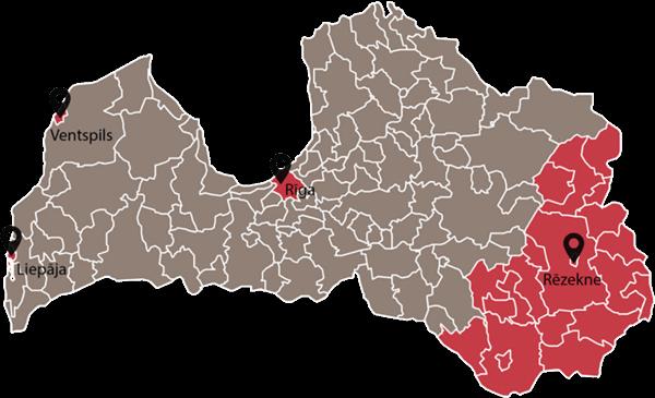 Lettland Sonderwirtschaftszonen