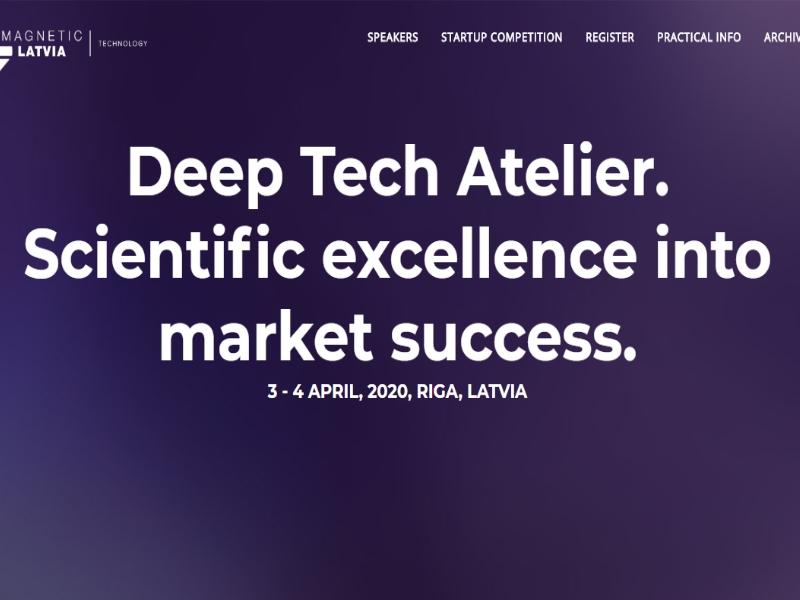 DEEP TECH ATELIER 2020