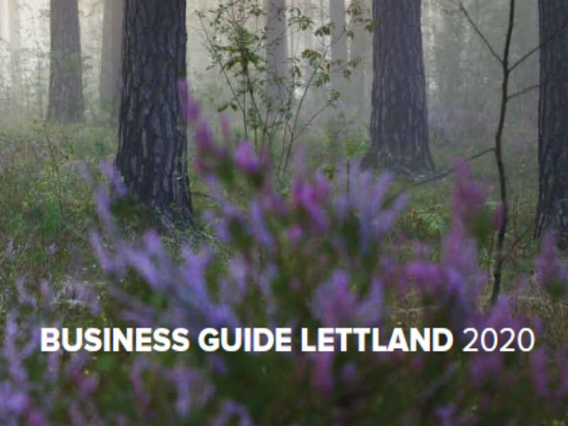 Der neue Business Guide Lettland ist da!