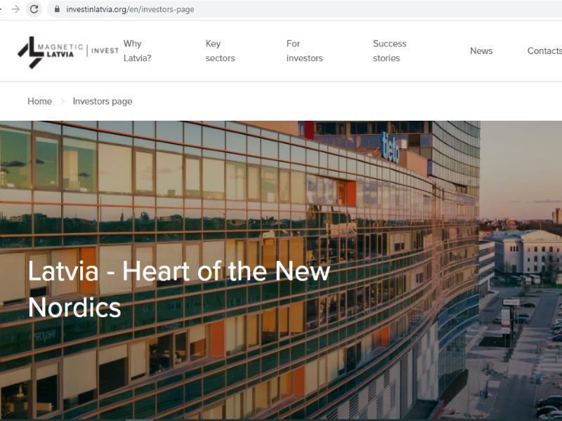 Lettland startet mit Investitionskampagne