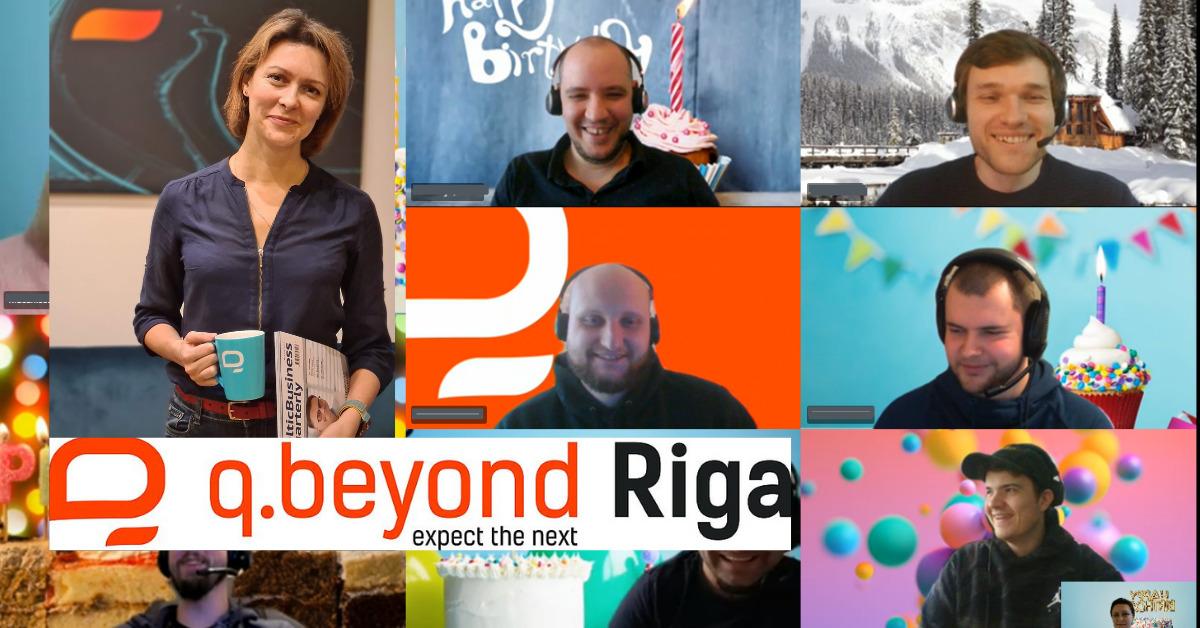 Erstes Auslandsbüro der q.beyond AG in Riga feiert 1. Geburtstag